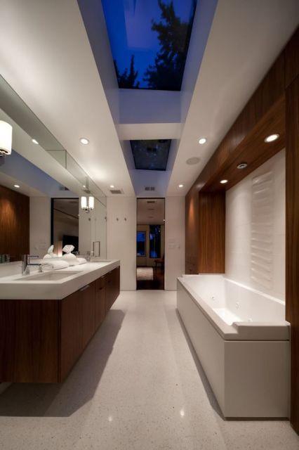 Contemporary Luxury Public Bathroom Design Ideas ~ Banheiros com banheiras fotos e projetos maravilhosos