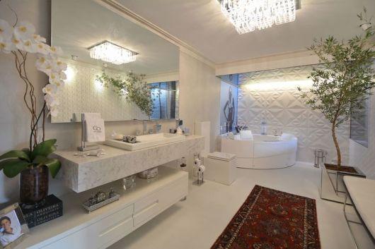 banheiro com tapete