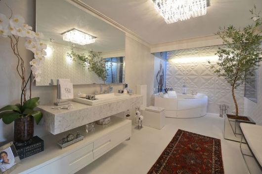 BANHEIROS DE LUXO 30 fotos imperdíveis! -> Banheiro Pequeno E Luxuoso