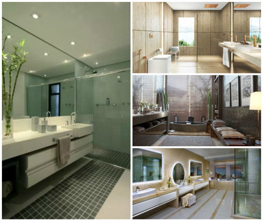 BANHEIROS DE LUXO 30 fotos imperdíveis! -> Decoracao Banheiro Luxo