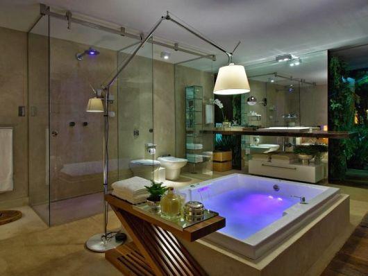 BANHEIROS DE LUXO 30 fotos imperdíveis! -> Banheiro Feminino Luxo
