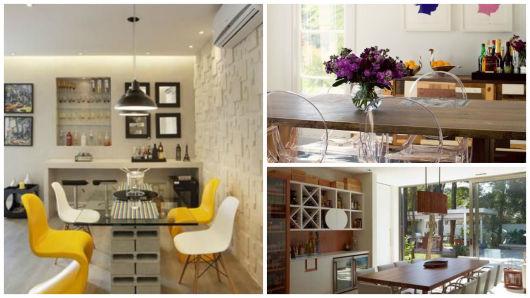 Sala Pequena Com Barzinho Moderno ~ por que não recorrer a decoração com pallets e caixotes ? O
