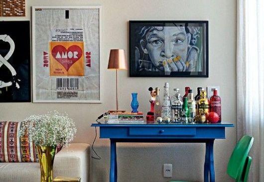 Sala De Estar Karaoke Bar ~  bandeja de bebidas já é possível ter seu espaço super criativo