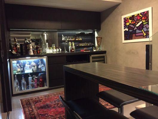 Bar em casa como fazer e ideias para decorar - Bar en casa decoracion ...