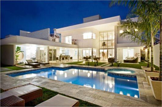 50 casas com piscina projetos dicas e fotos