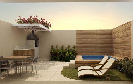 Churrasqueira moderna 30 fotos e projetos - Modelos de toldos para patios ...