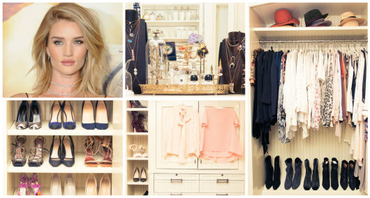 closet famosa Rosie Huntington Whiteley