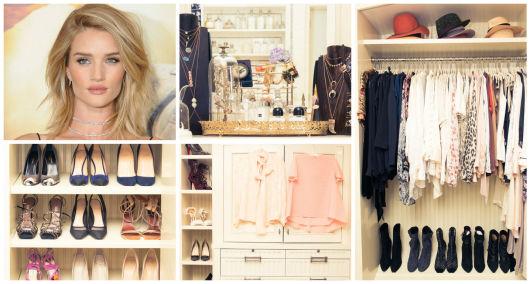 closet famosa Rosie Huntington Whiteley