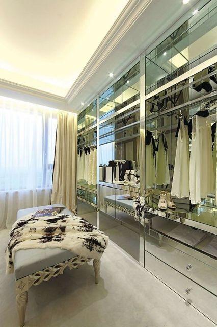 móveis espelhados