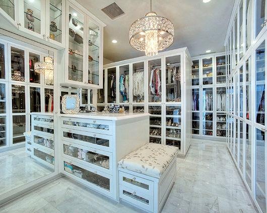 closet porta de vidro