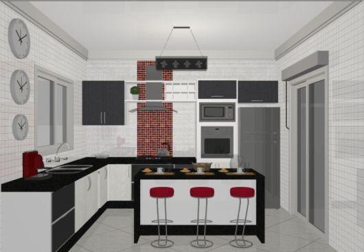 projeto cozinha com ilha