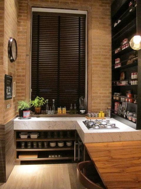 estantes cozinha