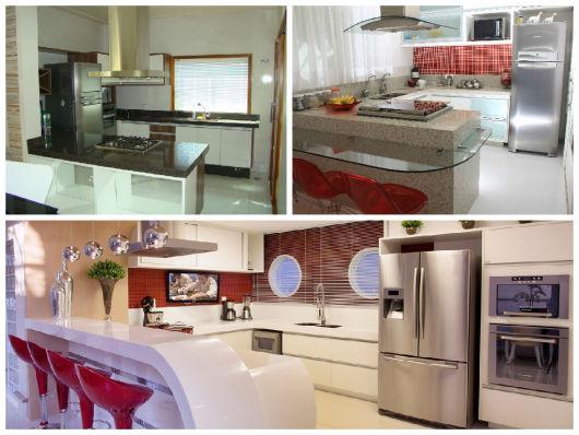 cozinha com península