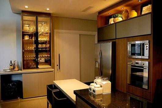 cozinha apartamento decorada