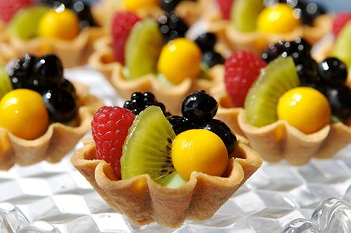 sobremesa frutas