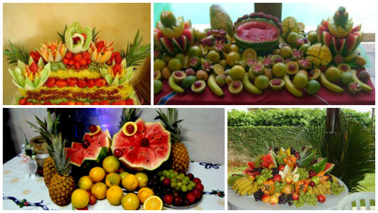 mesa para frutas