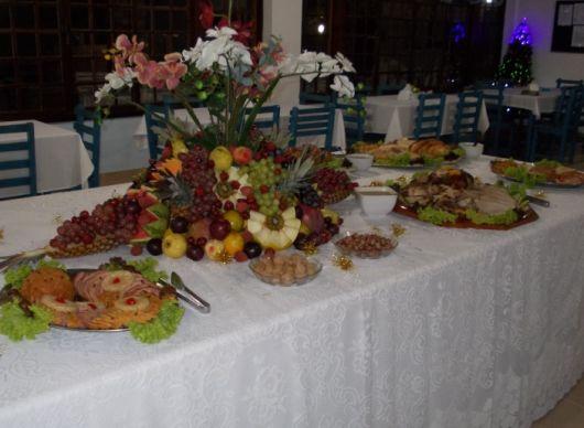 mesa ceia