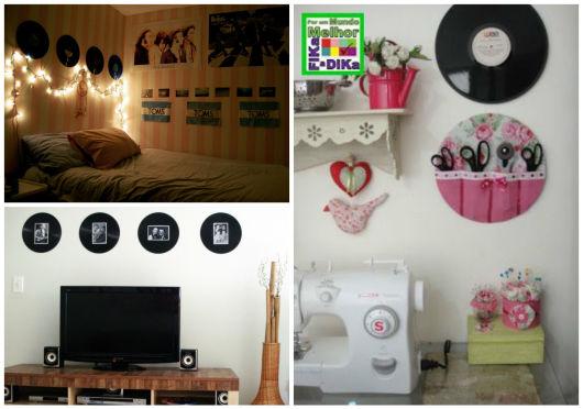 decoração com LP