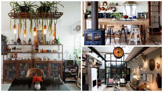 decoração com móveis vintage