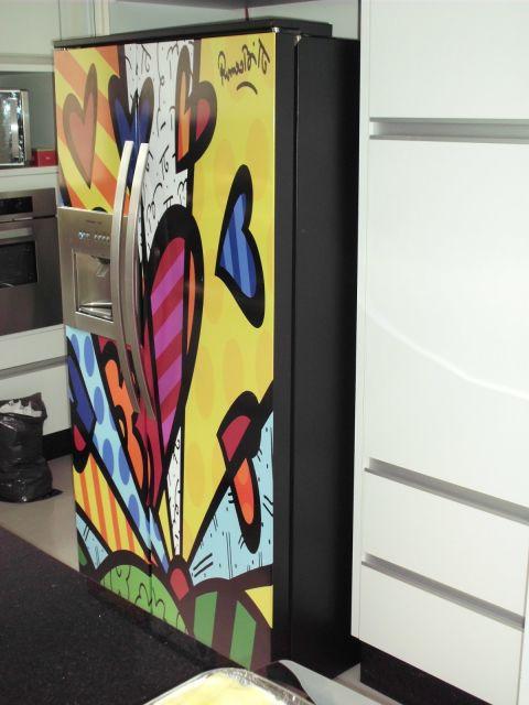 geladeira duas portas envelopada
