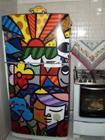 decoração romero britto
