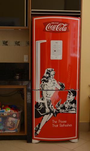 geladeira retrô
