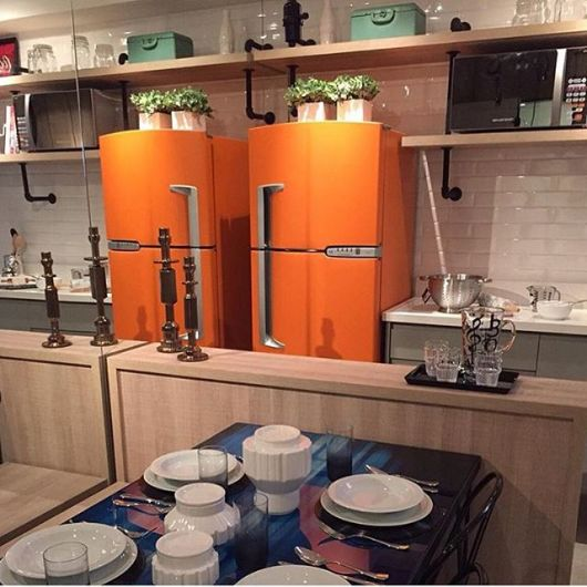 decoração cozinha americana