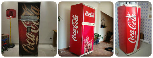 modelos adesivo geladeira