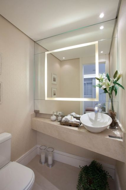 Lavabos modernos decora o e projetos for Ideas para lavabos pequenos