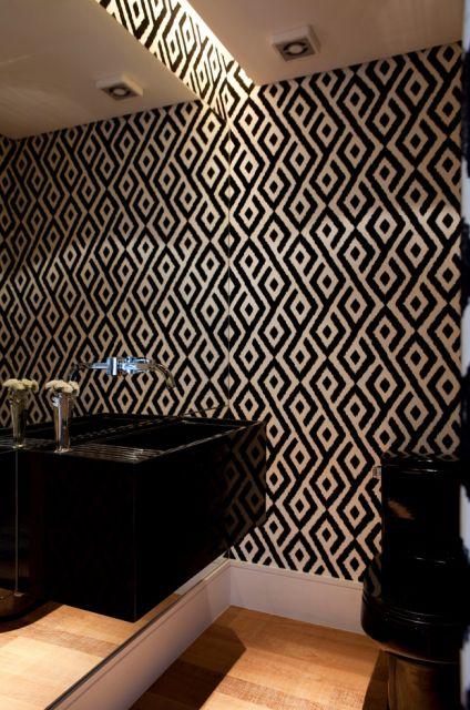 decoracao lavabo branco:LAVABOS MODERNOS: decoração e projetos