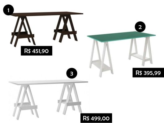 onde comprar mesa com cavalete