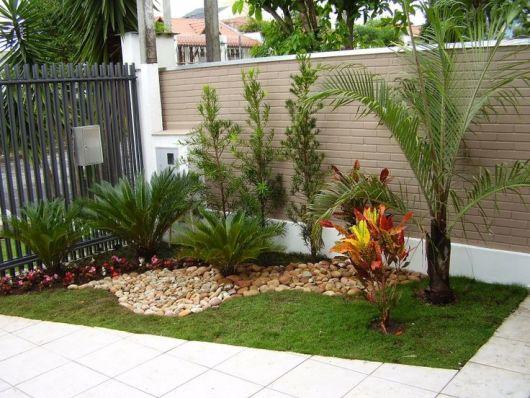 jardim fachada casa