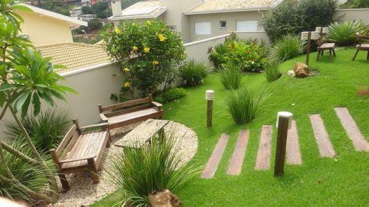 Modelos de jardins 50 inspira es para a rea externa for Terrazas japonesas