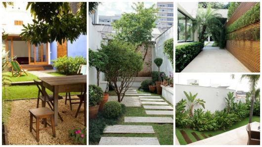 jardins quintal pequeno:quintal pequeno decorado
