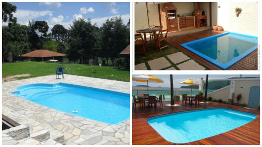 60 modelos de piscinas ideias dicas tudo sobre for Modelos piscinas pequenas para casas