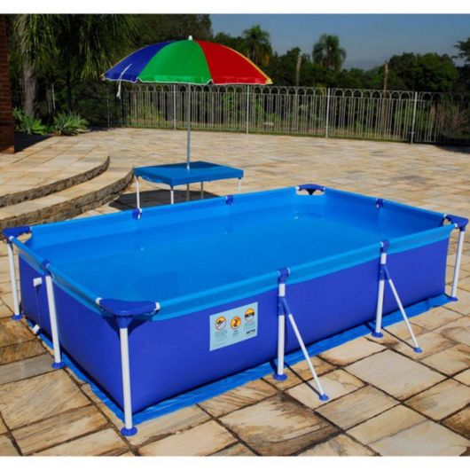 piscina de montar