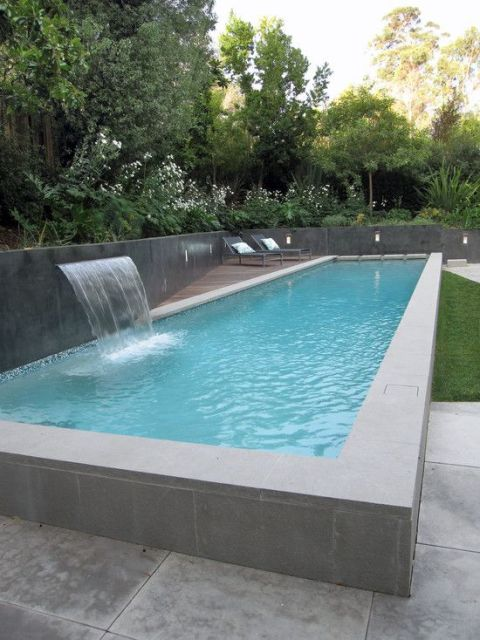piscina retangular