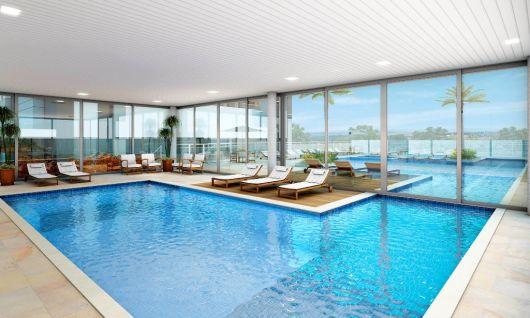 Piscina interna casa simple piscina riscaldata e coperta - Piscina interna casa ...