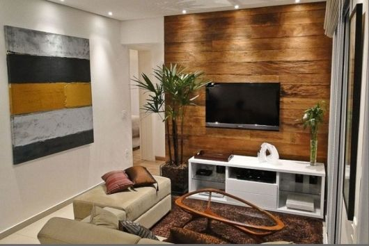 Painel Para Sala De Tv Simples