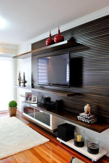 Imagens De Painel Para Sala De Tv ~ MODELOS DE PAINEL PARA TV Tipos e Fotos