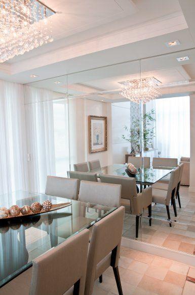 sala jantar decorada