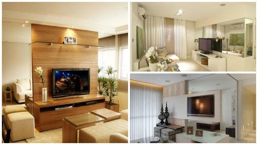 Salas De Tv Decoradas Com Espelhos ~ PAREDE DE ESPELHO NA DECORAÇÃO 35 ideias e fotos!