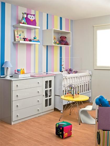 cores quarto bebê