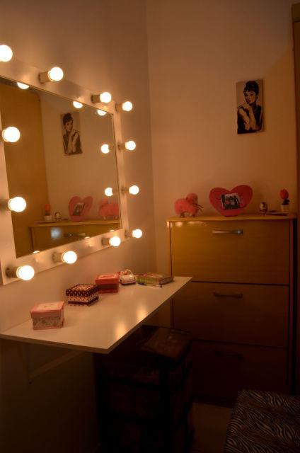 quarto com espelho