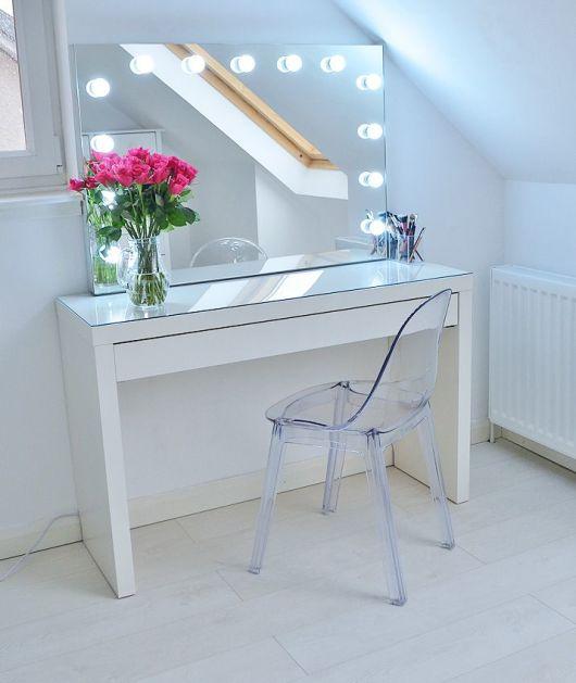decoração cadeira acrílico