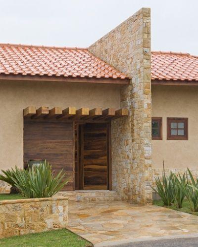 casa telhado aparente