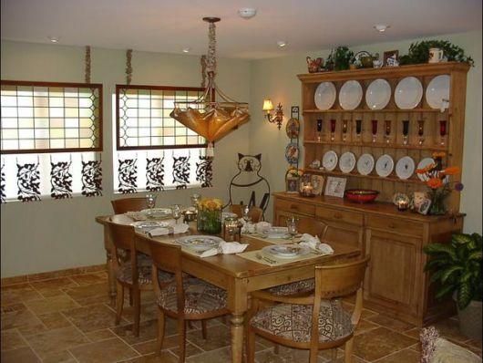 casa decoração rústica