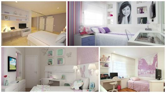 decoração quarto lilás