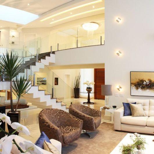 Sala Pequena Com Escada Decoracao ~ Decoração e ambientes com escad