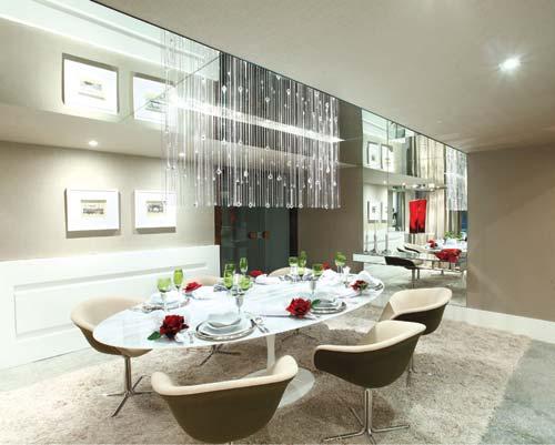 Cadeiras Para Sala De Jantar Luxo ~ SALA DE LUXO 30 Inspirações e Ideias para Decorar!